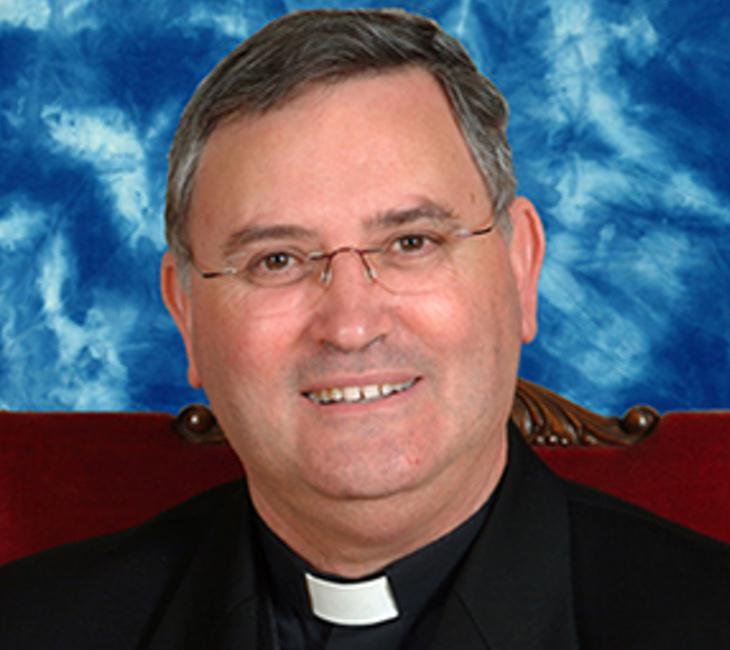 El obispo de Cartagena, Monseñor Lorca Planes