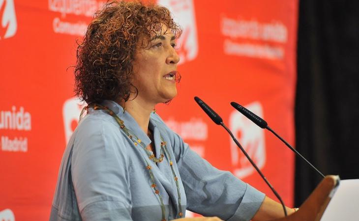 La exdiputada de IU-CM, Libertad Martínez