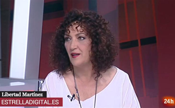 Libertad Martínez ha sido señalada como la protegida de Ignacio González en TVE