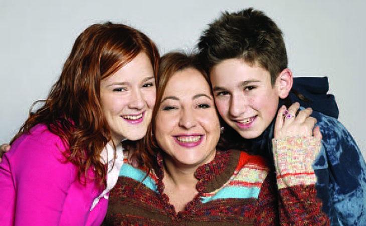 Una de las familias más disfuncionales de la televisión, pero con una de las madres más coraje