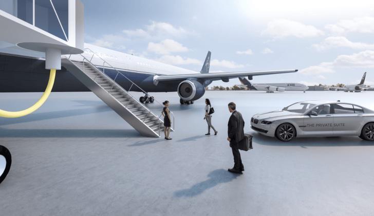 Y para terminar, acompañado en BMW hasta tu asiento en el avión