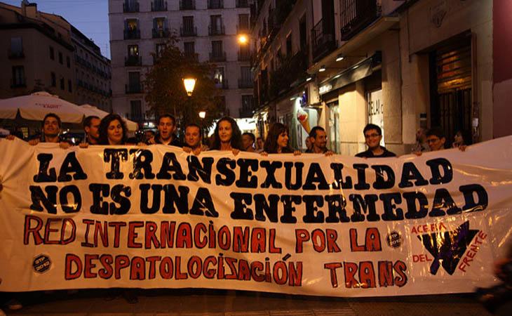 Aún se lucha por despatologizar la transexualidad
