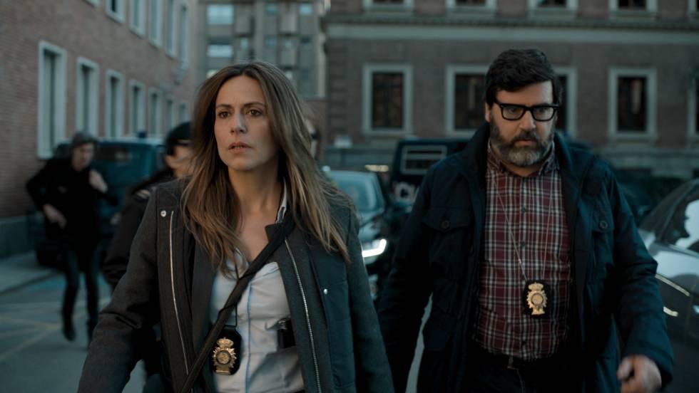 Itziar Ituño en Raquel en 'La casa de papel'
