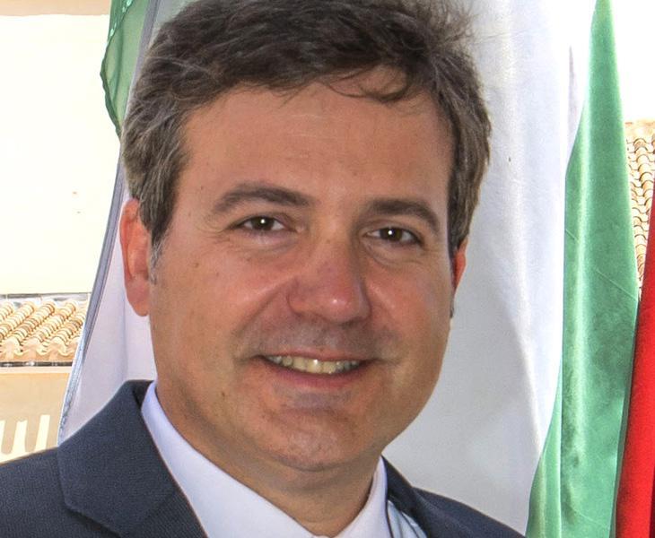 El alcalde de Fuente del Álamo de Murcia, Antonio Jesús García