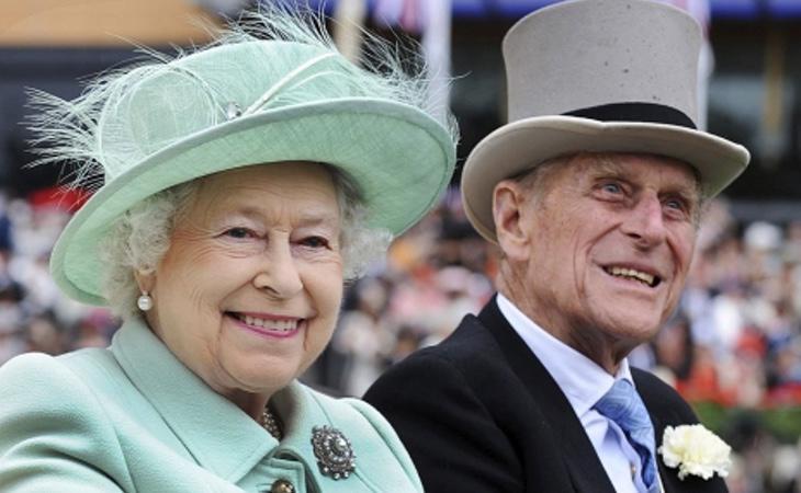 Los reyes de Inglaterra, Isabel II y Felipe de Edimburgo
