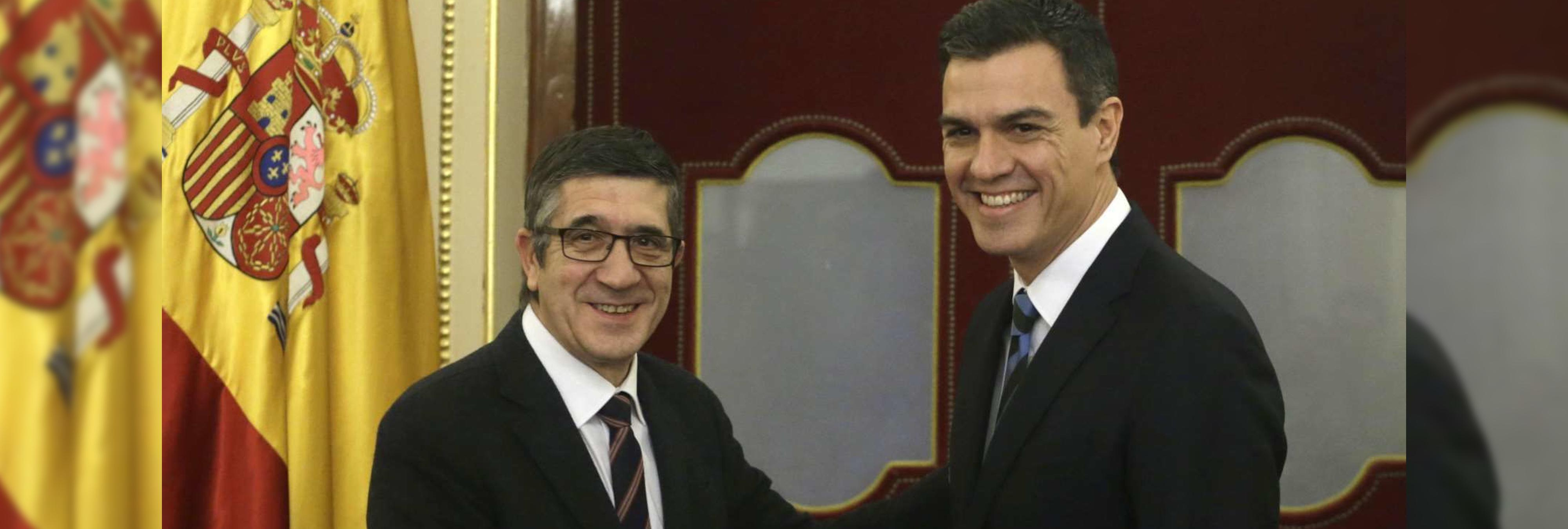 Patxi López rechaza unir su candidatura a Pedro Sánchez
