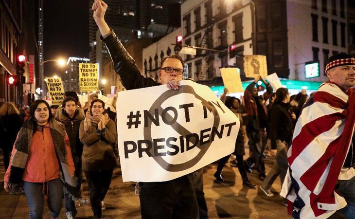 La reforma sanitaria de Donald Trump ha provocado múltiples manifestaciones a lo largo de todo el país