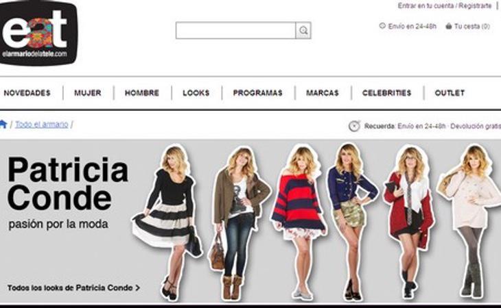 Página web de 'El Armario de la Tele'