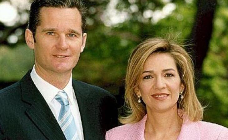 La Infanta Cristina junto a su marido, Iñaki Urdangarín