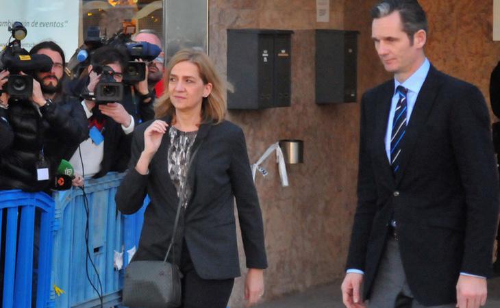 La Infanta Cristina fue absuelta y su marido condenado a seis años de prisión