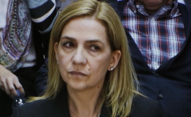 El informe de la Fiscalía afirma que la Infanta Cristina jamás se tendría que haber sentado en el banquillo de los acusados