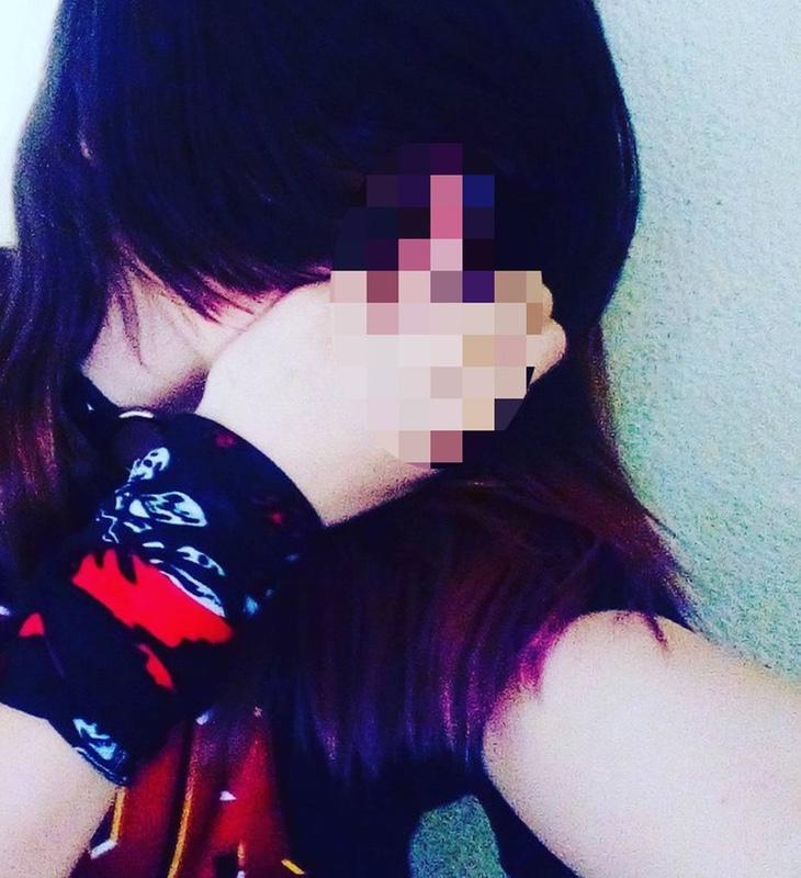 La niña que ha asestado cinco puñalas a su pareja, en una fotografía publicada en redes sociales