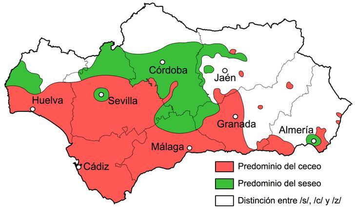 Variantes del dialecto andaluz