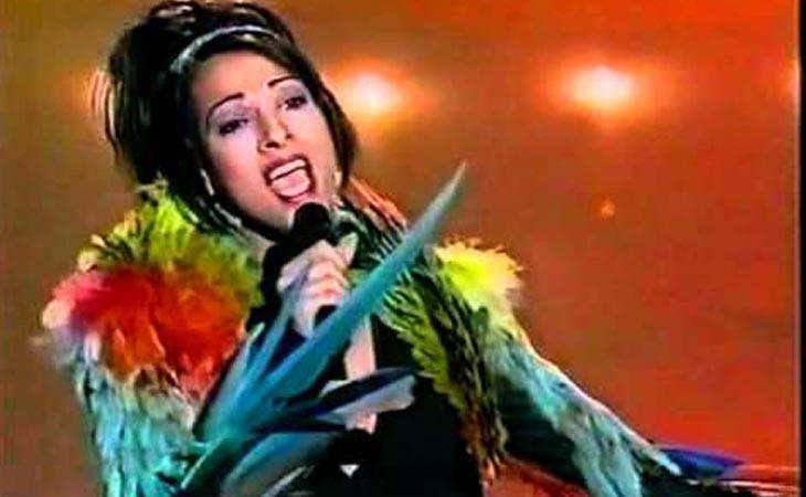 Dana Internacional consiguió ganar la edición de 1998