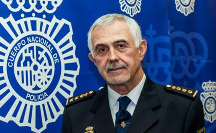 El jefe de la Policía en Cantabria, Héctor Moreno García