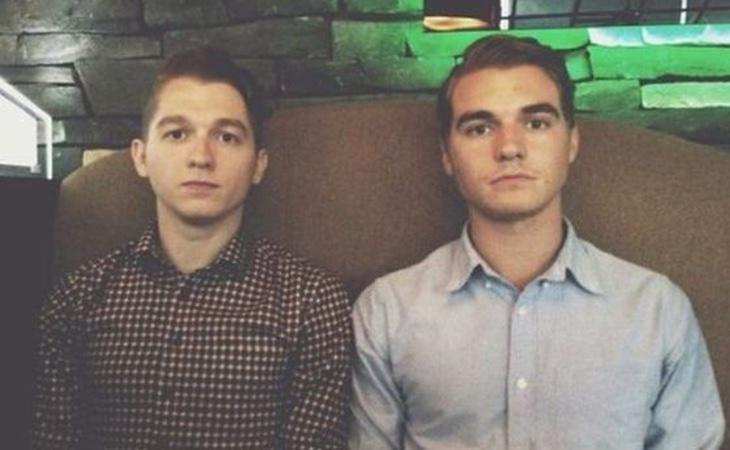Los hermanos Evan y Mackenzie Keast