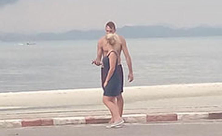 Foto de la pareja en cuestión