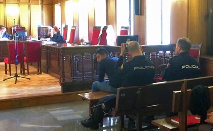 Imagen de la vista oral del juicio (cadena SER)