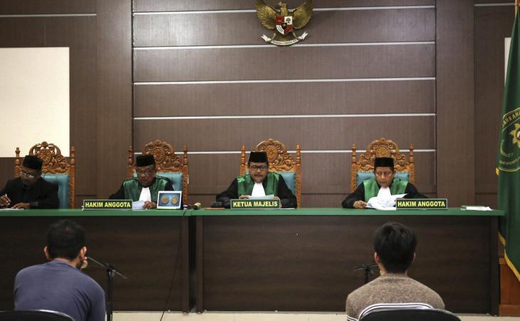 Los dos jóvenes han sido juzgados por mantener relaciones homosexuales