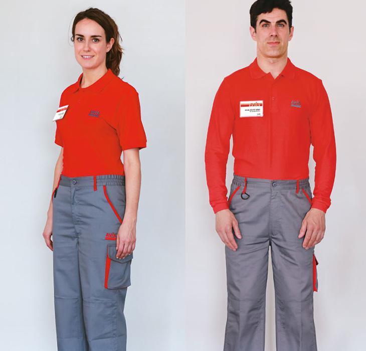 Este es el uniforme real de la compañía
