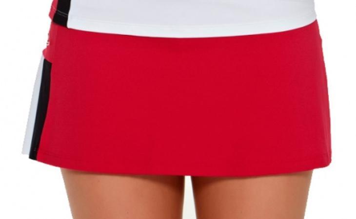 Ejemplo de una falda tipo pádel
