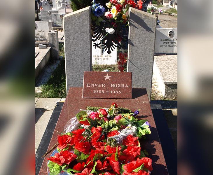 Actual tumba de Enver Hoxha