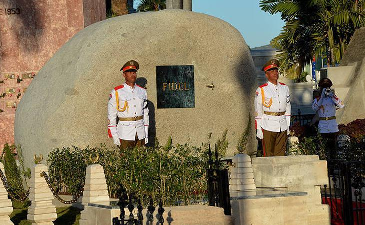 Tumba de Fidel Castro