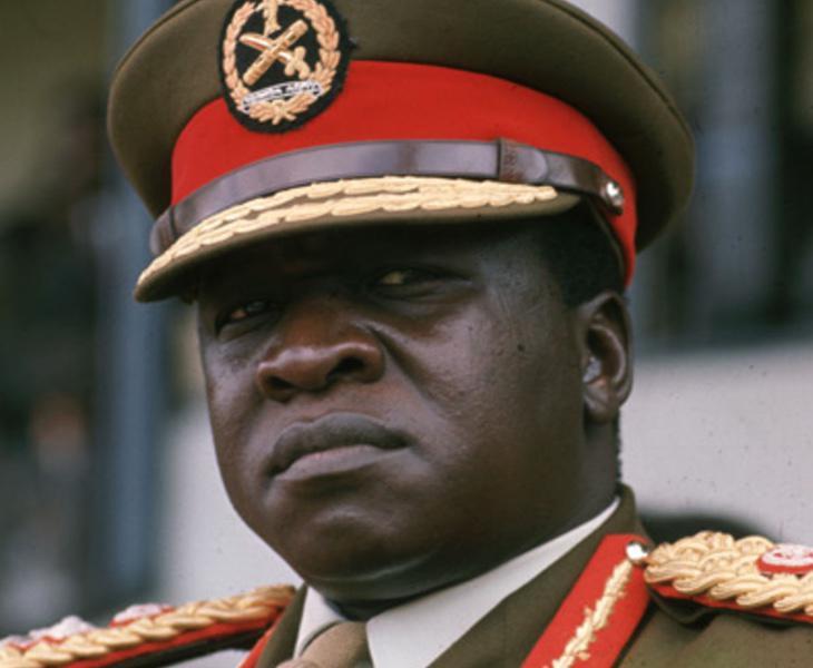 Idi Amin ejercía el canibalismo contra sus opositores, pese a lo cual encuentra muchos apoyos en la actualidad