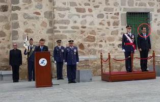 """El número dos de Interior homenajea a los """"caídos"""" franquistas en Córdoba"""