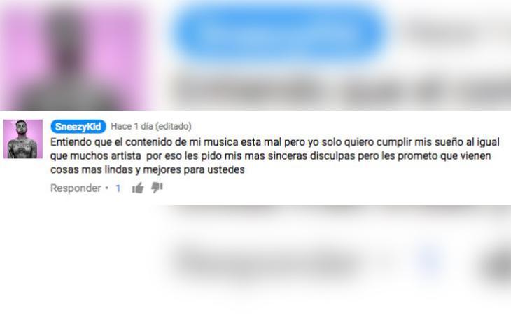 El autor de la canción ha pedido disculpas tras el revuelo causado