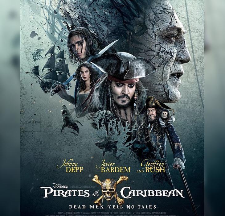 La quinta de 'Piratas del Caribe' ha sido robada