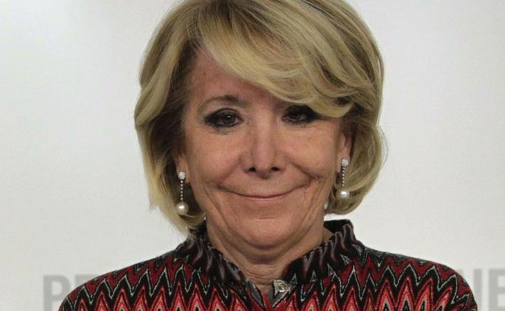 Esperanza Aguirre, en apuros