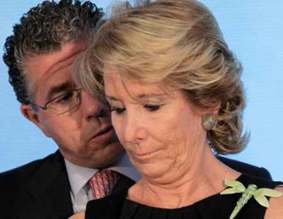 La Guardia Civil concluye que Aguirre ganó las elecciones gracias al dinero negro