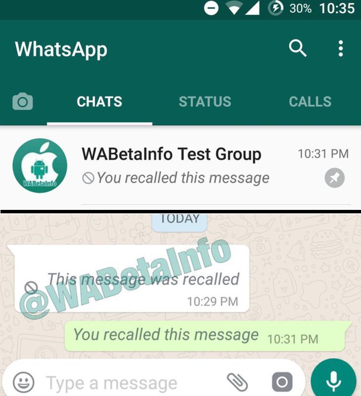 Los mensajes que hemos borrado aparecerán así en nuestro teléfono