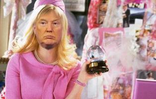 Donald Trump le copia el discurso a la protagonista de 'Una rubia muy legal'