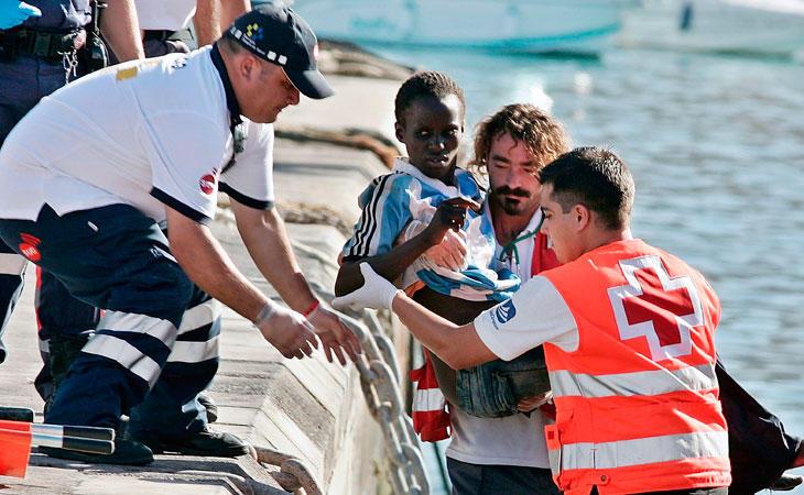 El 75% de los menores llegados a Italia habían sufrido abusos
