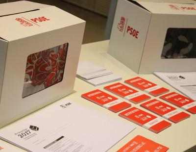 Comienza el recuento de votos en las primarias del PSOE con récord  de participación
