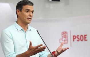 Pedro Sánchez se proclama vencedor en las primarias del PSOE y será de nuevo Secretario General