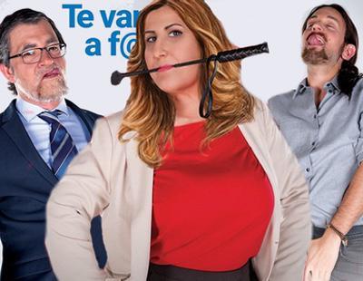 "Rajoy, Iglesias o Susana Díaz ""te van a follar"" en el próximo Salón Erótico de Madrid"