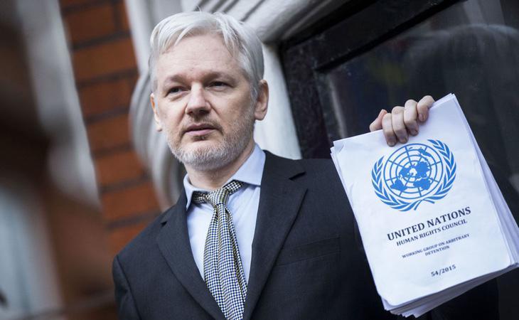 El fundador de Wikileaks, Julian Assange, en una forografía de archivos
