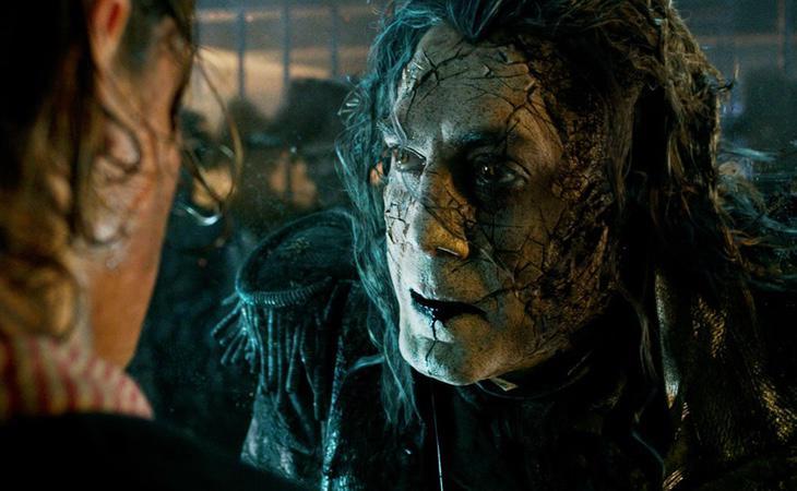 El personaje de Armando Salazar (Javier Bardem) fue creado por expreso deseo de Johnny Depp