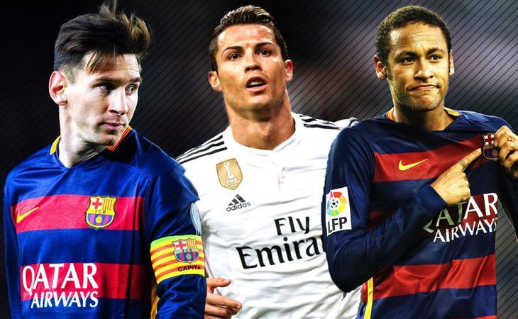 Messi, Neymar y Ronaldo se han visto implicados en varios escándalos de corrupción
