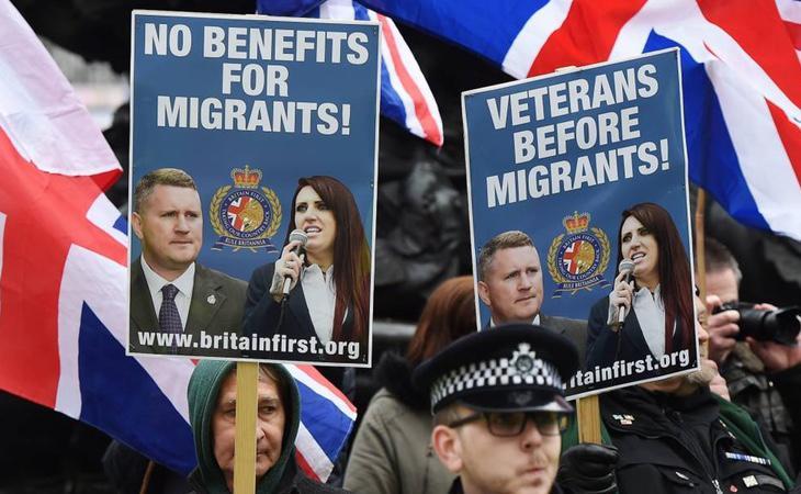 Campaña xenófoba en Reino Unido