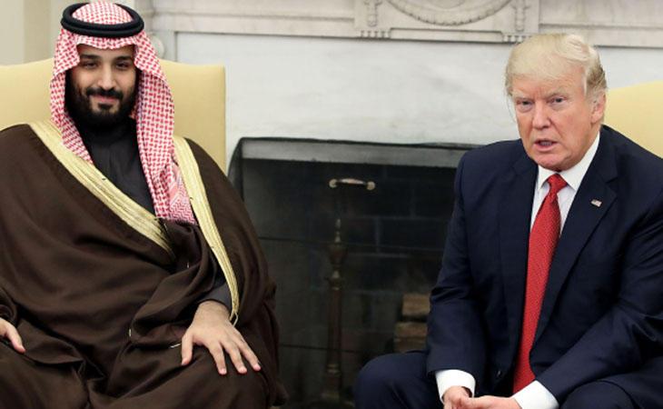 Trump en su visita