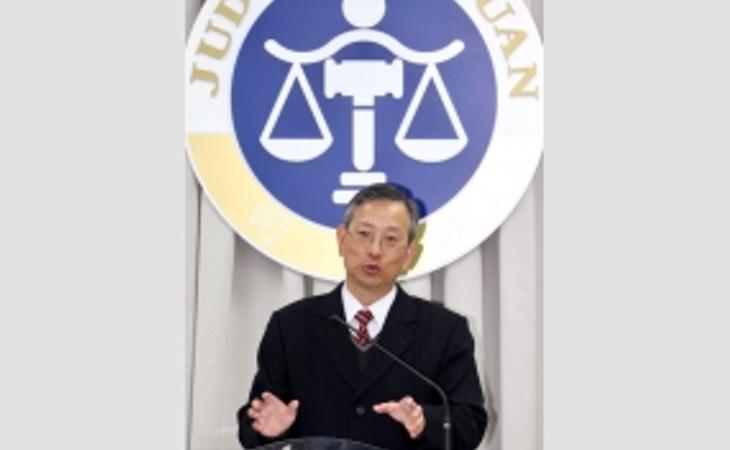 El secretario general de la corte Suprema de Justicia, Lu Tai-Iang