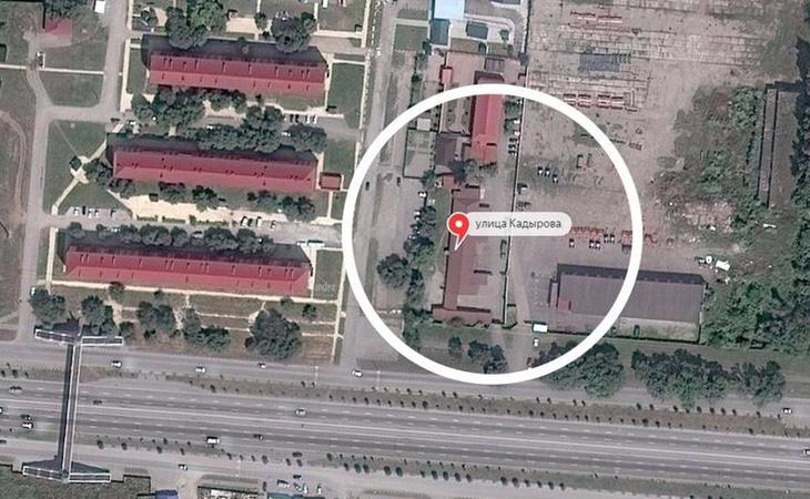 Algunos de los campos de concentración señalados por el diario Novaya Gazetta