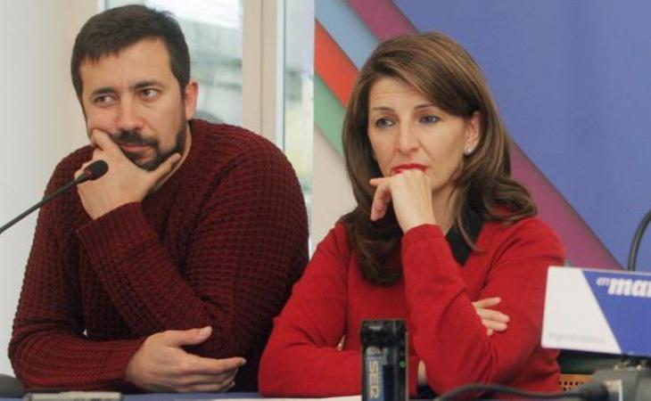 Los diputados Antón Gómez-Reino y Yolanda Díaz han registrado la pregunta en el Congreso de los Diputados