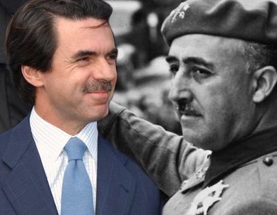 Aznar entregó más de 150.000 euros de dinero público a la Fundación Francisco Franco entre 2000 y 2003
