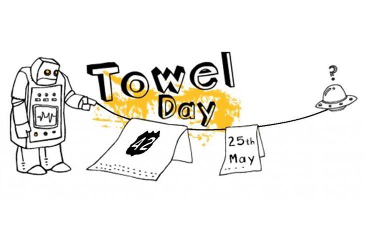 El 25 de mayo también es el Día de la Toalla