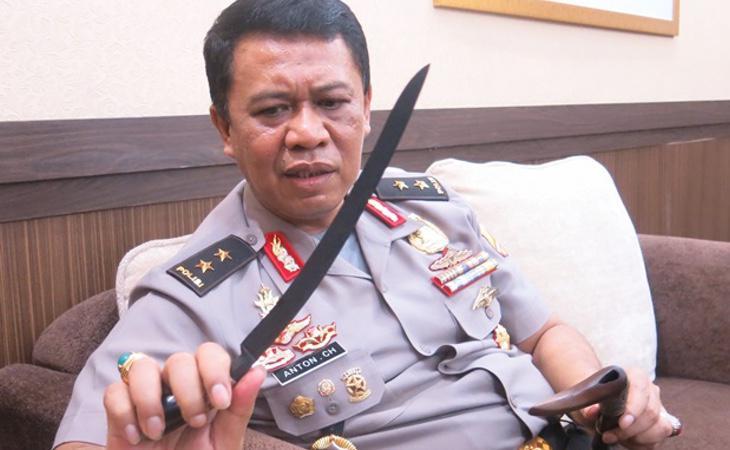 El jefe de la Policía indonesia, Anton Charliyan